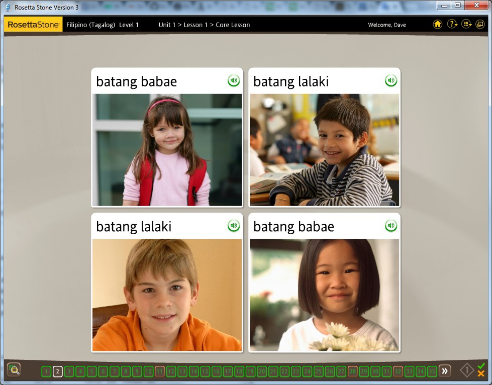 Buy Cheap Rosetta Stone - Learn Filipino (Level 1, 2 Set)